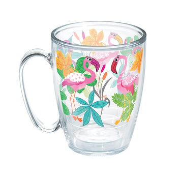 Tervis® Mug, 16 oz. Flamingo Fun