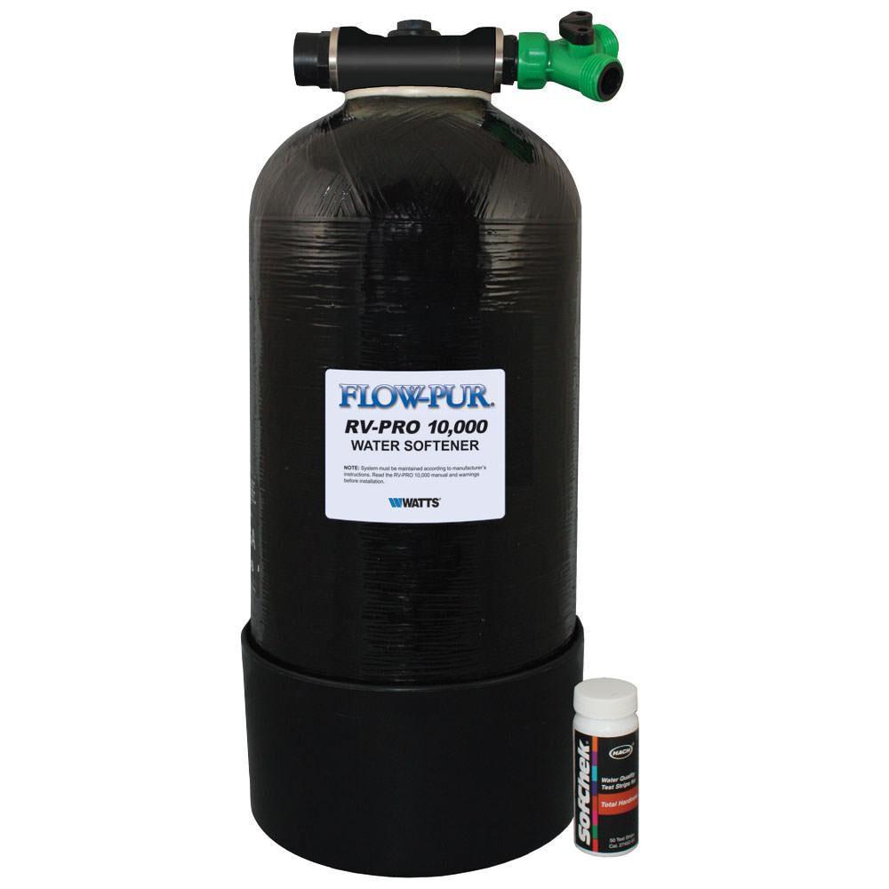 Black Portable Boat /& RV Water Softener