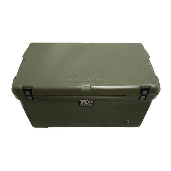 K2 Summit 90 Quart Cooler, Duck Boat Green