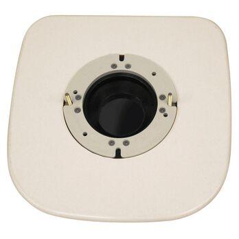 Mounting Adapter, Toilet, 300 Series - Bone