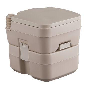 Portable 5 Gallon Tan Toilet, Tan