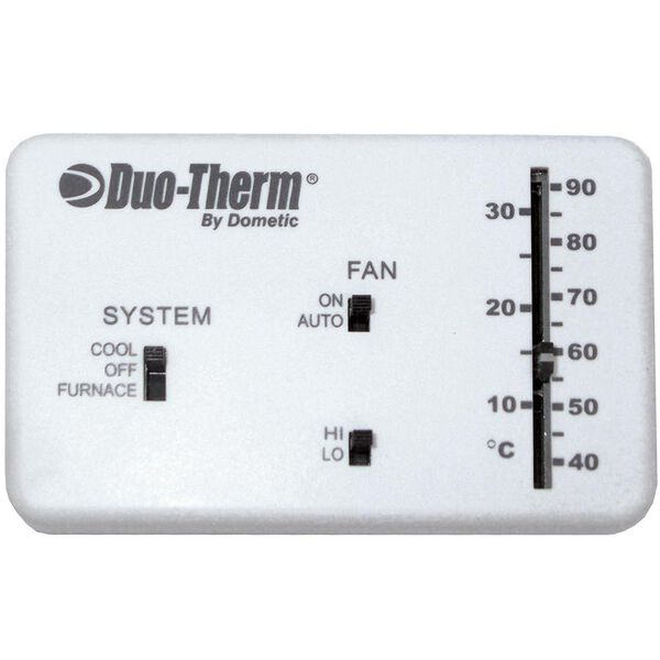 Analog Thermostat, Cool/Furnace/Fan