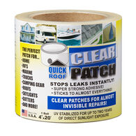 """Quick Roof Clear Patch, 4"""" x 20'"""