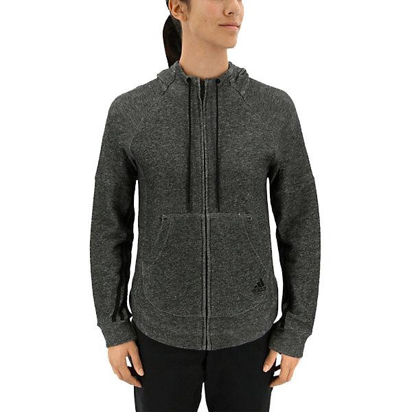 Adidas Women's Sport2Street Full-Zip Hoodie