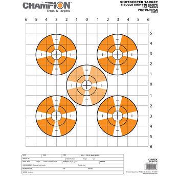 Champion Range and Target Shotkeeper Targets