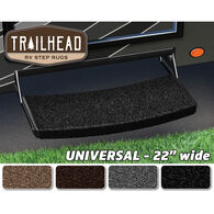"Trailhead Universal RV Step Rugs, 22""W, Obsidian Black"