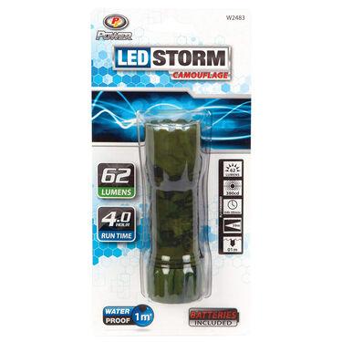Performance Tool LED Storm Flashlight, Camo