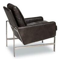 Lucas Leather Chair, Shalimar Grigio