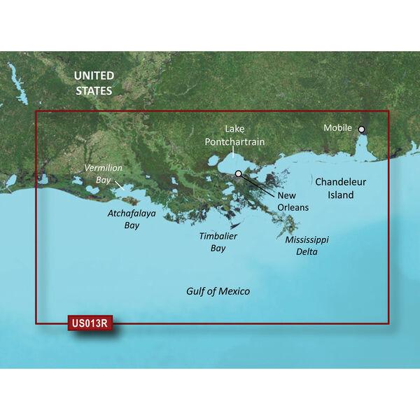 Garmin BlueChart g2 Vision HD Cartography, Mobile, AL - Lake Charles