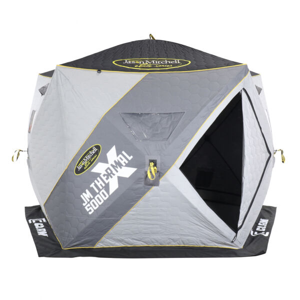Clam Jason Mitchell X5000 Thermal Hub Shelter