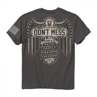 Buck Wear Men's Don't Mess Short-Sleeve Tee