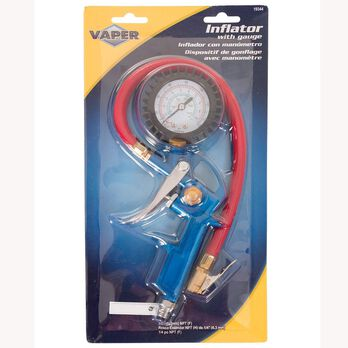 Inflator with Gauge