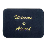 Welcome Aboard Boat Mat