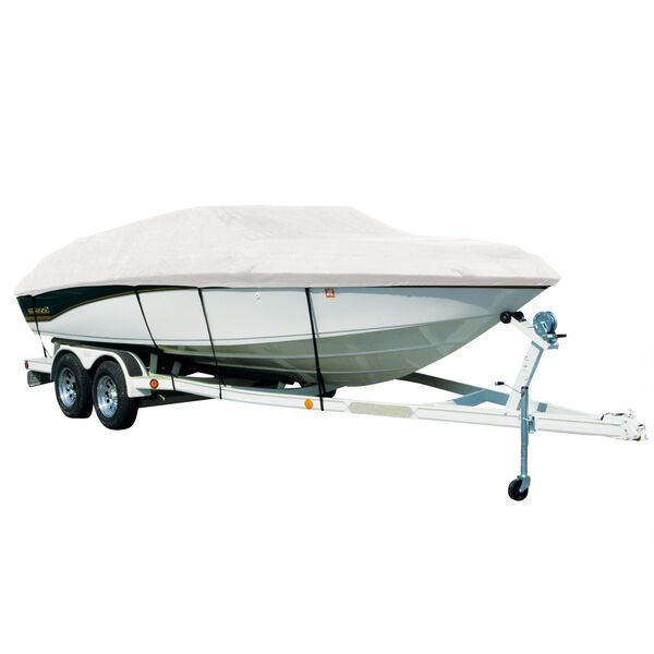 Exact Fit Sharkskin Boat Cover For Boston Whaler Dauntless 13 W/Bow Rail