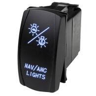 Race Sport LED Rocker Switch with Blue LED Radiance – NAV Lights