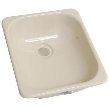 """13"""" x 15"""" Kitchen Sink - Parchment"""