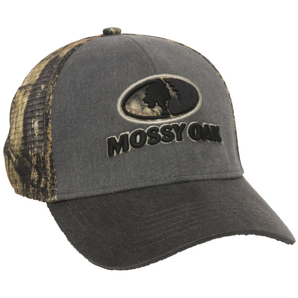 Mossy Oak Logo Stretch-Fit Cap