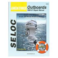 Seloc Marine Outboard Repair Manual for Johnson/Evinrude '92 - '01