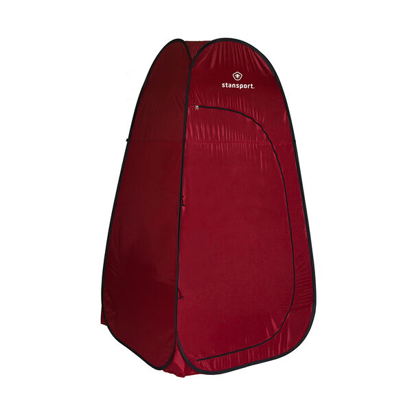 Stansport Pop-Up Privacy Shelter, Red