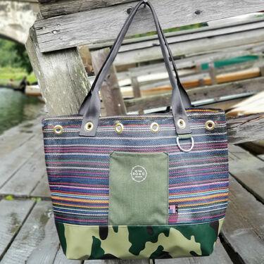 Raymond Camo Tote Bag