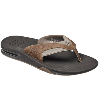 Reef Men's Fanning Leather Thong Sandal