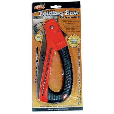 HME Products Folding Saw with Built-In Hand Protector