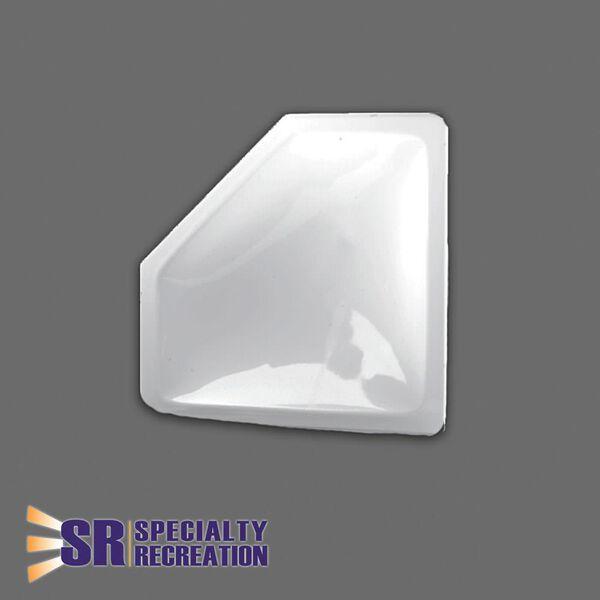 Neo Angle Inner Garnish, 30x13, White