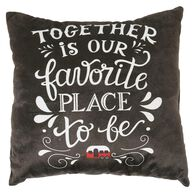 "Favorite Place Throw Pillows, 16"" x 16"""