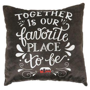"Favorite Place Throw Pillows, 16"" x 16"""