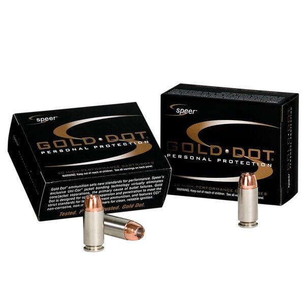 Speer Gold Dot Handgun Personal Protection Ammunition, 10mm Auto, 200 gr.