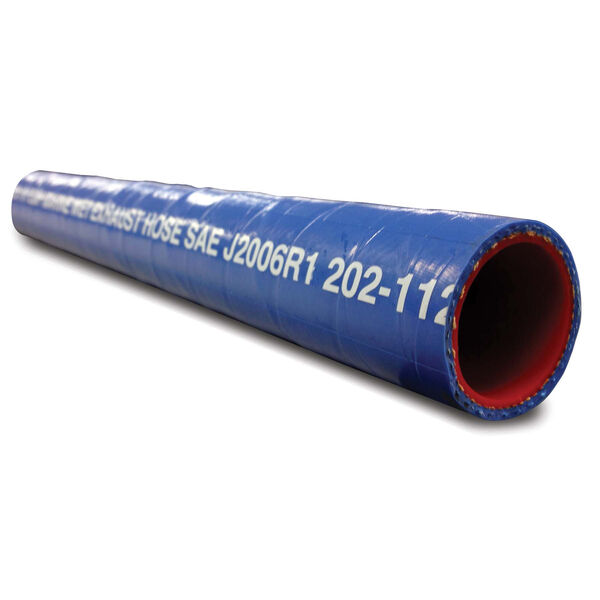 """Shields 3-1/4"""" Silicone Water/Exhaust Hose, 6'L"""