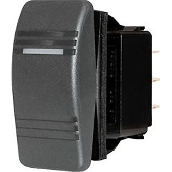 Blue Sea Systems Contura III Switch, DPDT (ON)-OFF-(ON)