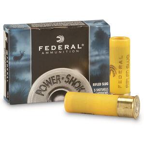 "Federal Ammunition Power-Shok Rifled Slugs, 20-ga., 2-3/4"", 3/4-oz."