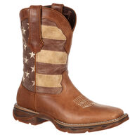Durango Women's Lady Rebel Faded Union Flag Western Boot