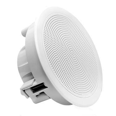"FUSION FM-F65RW FM Series 6.5"" Flush Mount Round Marine Speakers"
