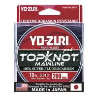 Yo-Zuri TopKnot MainLine Fluorocarbon Fishing Line – Natural Clear, 200 Yds.