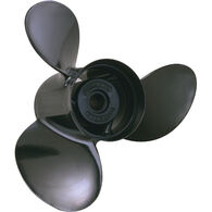 Michigan Wheel 3-Blade Prop, Pressed Rubber Hub / Aluminum, 12.5 dia x 8, RH