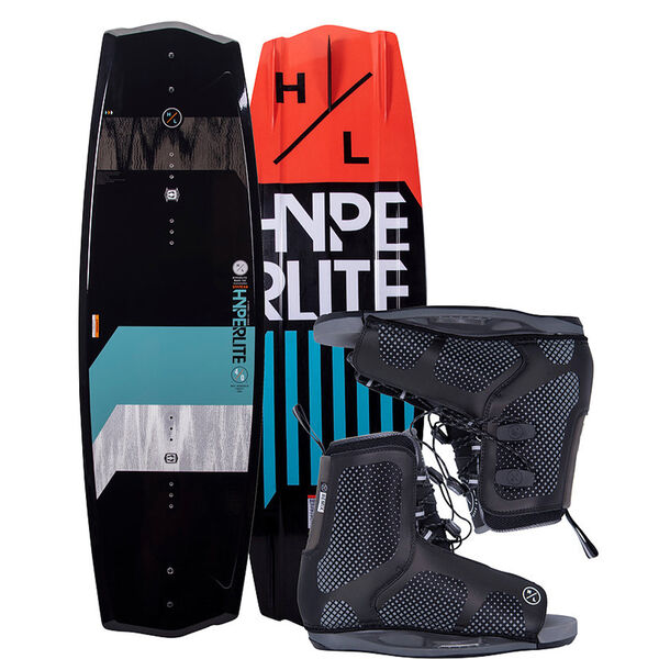 Hyperlite State 125 Jr. Wakeboard with Remix Boots
