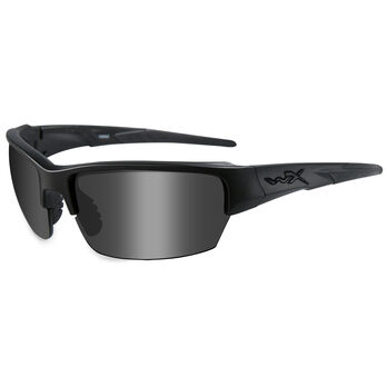 Wiley X Saint Sunglasses, Smoke Gray Lens/Black Frame