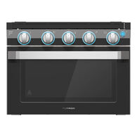 """Furrion 17"""" 2-in-1 Range Oven with Wired Grate, Black"""