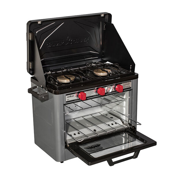 Camp Chef Deluxe Outdoor Oven and 2-Burner Stove