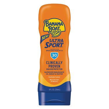 Banana Boat Ultra Sport SPF 30 Sunscreen Lotion, 8 oz.