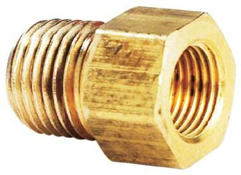 """1/4"""" Male Pipe Thread x 1/4"""" Inverted"""