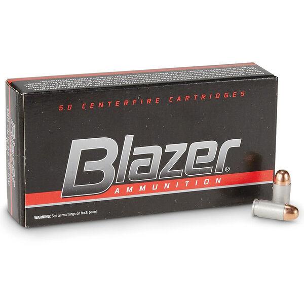 Blazer Handgun Ammo, .380 ACP, 95-gr., FMJ