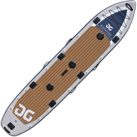 Aquaglide Blackfoot 14' Angler Inflatable Stand-Up Paddleboard