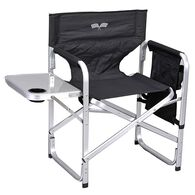 Ming's Mark Inc Director's Folding Chair, Black Flags