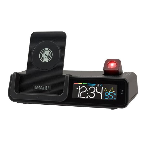 La Crosse Wattz Wireless Charging Projection Alarm Clock
