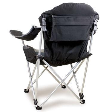 Reclining Camp Chair-Black
