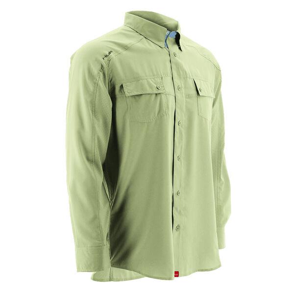Huk Men's Next Level Long-Sleeve Woven Shirt
