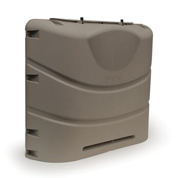 Propane Tank Cover, Champagne (Fits 30 lbs. Steel Double Tank)